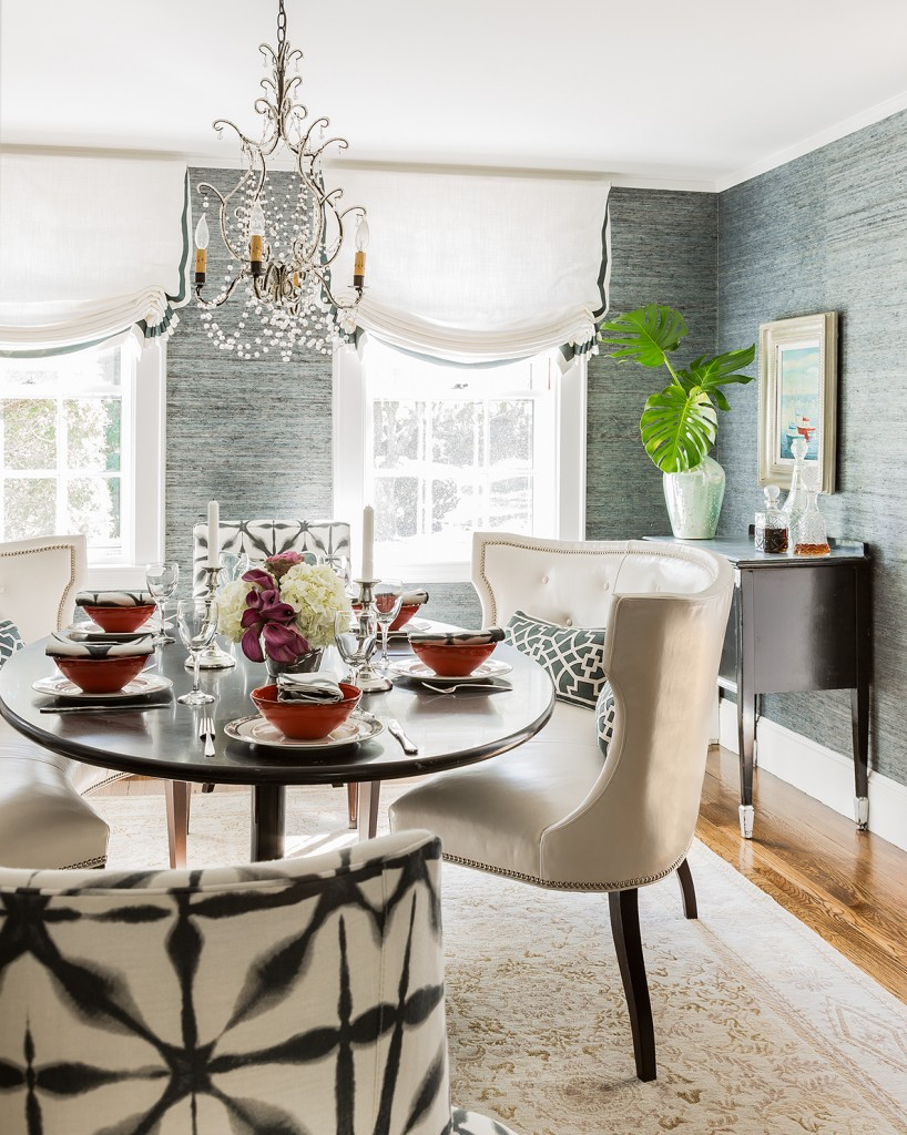 grasscloth | megan pesce interiors